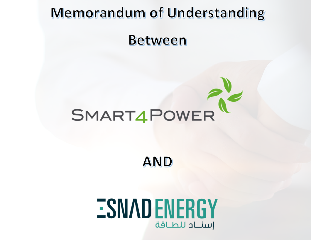 S4P and Esnad Sign MOU | Esnad Energy
